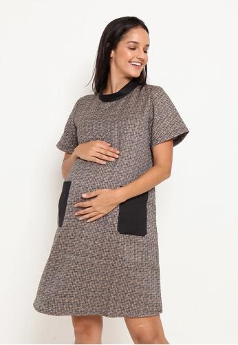 Chantilly black Maternity Dress 23373AA4D1B9C1GS_1