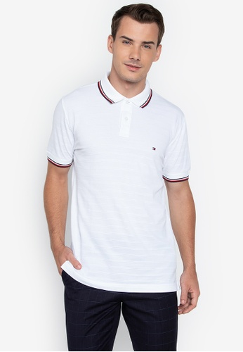 4fbdf5b0e6dd Shop Tommy Hilfiger Wcc Tonal Texture Polo Shirt Online on ZALORA  Philippines