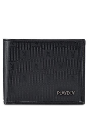 Playboy black Playboy Rfid Blocking Wallet 4290FAC5FEDCF2GS_1
