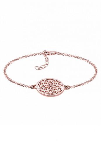 ELLI GERMANY Elli Germany 925 Sterling Silver Gelang Dreamcatcher Rose Gold Rosegold