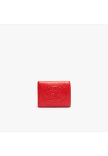 Lacoste Lacoste Women's Croco Crew Grained Leather Snap Wallet NF2974NL BDCC5AC473C186GS_1