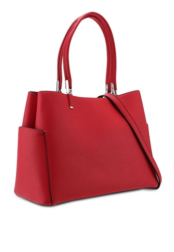045153a62 Buy Dorothy Perkins Red Pocket Side Tote Bag Online | ZALORA Malaysia