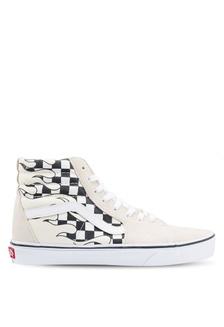 83cfc03e43 SK8-Hi Checker Flame Sneakers BF862SH5CBB1D4GS 1 VANS ...