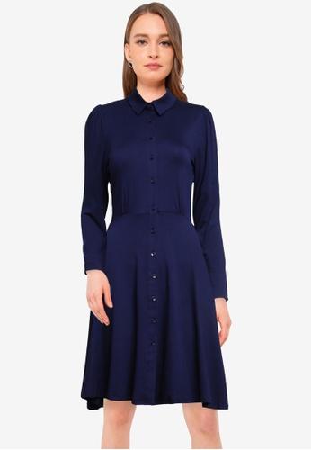 Dorothy Perkins navy Navy Jersey Shirt Dress 80547AA36783A3GS_1
