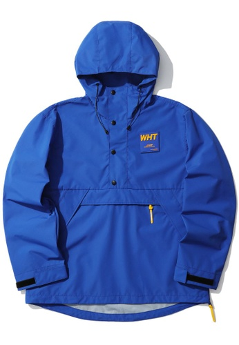 :CHOCOOLATE blue Logo pullover jacket 34374AAFD8B1F3GS_1