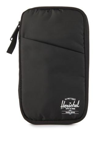 Herschel black Travel Wallet 07F95AC0F17FE9GS_1