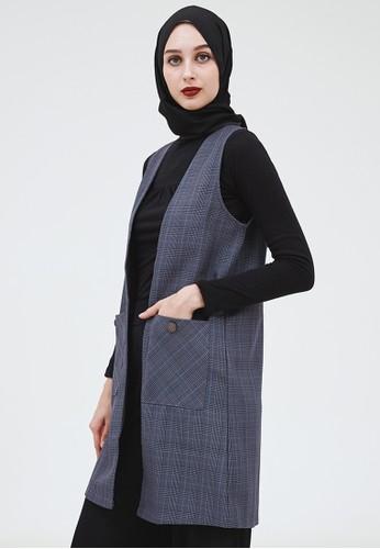 MFMW grey MFMW Aelyra Vest Abu-abu 2C2A8AAAD5052BGS_1