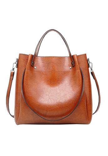 Twenty Eight Shoes brown VANSA Simple Design Hand Bag   VBW-Hb028 5FF7FAC18D0A48GS_1