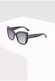 bc8dcca8ec6 Dolce   Gabbana black Dolce   Gabbana DG4348F Sunglasses 78982GL9F3C368GS 1