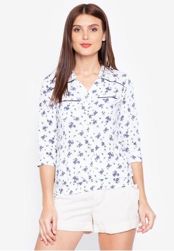No Apologies white Woven Printed Shirt 08D29AA22F88B5GS_1