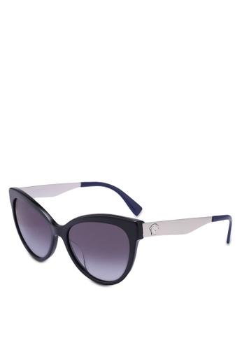 Versace black Versace VE4338A Sunglasses 213A0GL23F5E5AGS_1