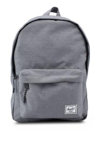 Herschel grey Classic Mid Volume Backpack 9AFF6AC22F1E7FGS_1