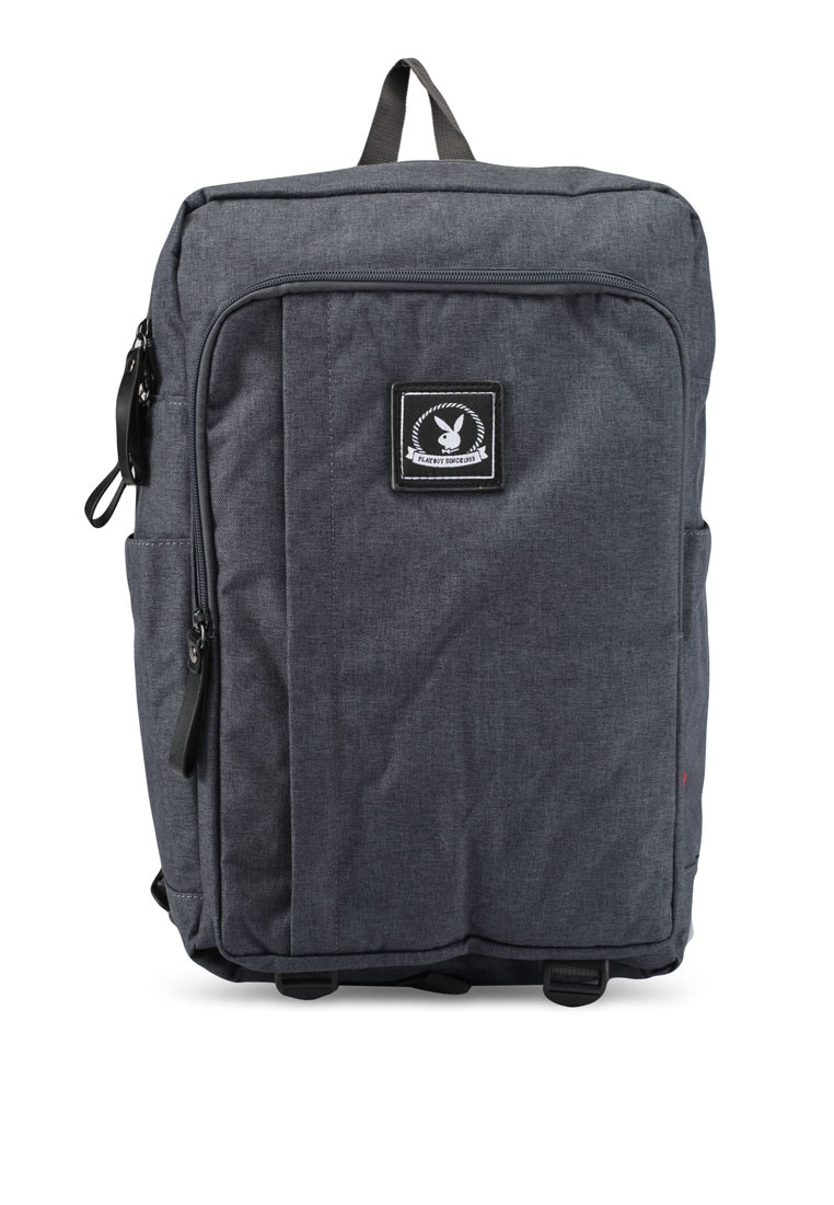 a1ddeacfd38 Grey Playboy Casual Friday Black Playboy Backpack Dark 88IqCT at ...