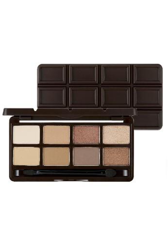 THE FACE SHOP brown The Face Shop Mono Pop Eyes 01 Dark Chocolate 85A5BBE388CBE3GS_1