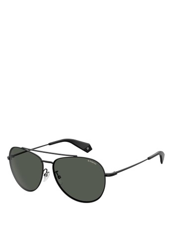 Polaroid black Pilot 2083/G/S Sunglasses E0726GL9F1AEA1GS_1
