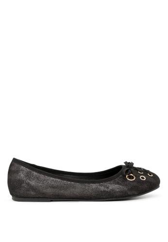 London Rag 黑色 芭蕾舞鞋 SH1701 88B07SH654515CGS_1