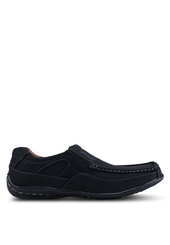 Louis Cuppers black Faux Leather Shoes 5A7E9SH442F90FGS_1
