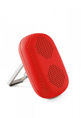 Latest Gadget red MϋV Mini Carabiner Bluetooth Speaker E086AAC4E703E8GS_1