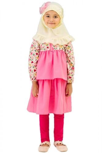 Al-Qolam Hafiz Hafizah Fashion - Dress Safa Layer Flower Pink 45030KA147654BGS_1