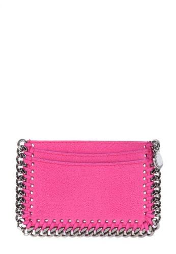 Stella Mccartney pink STELLA MCCARTNEY FALABELLA CARD HOLDER F8C80AC07ECFBCGS_1