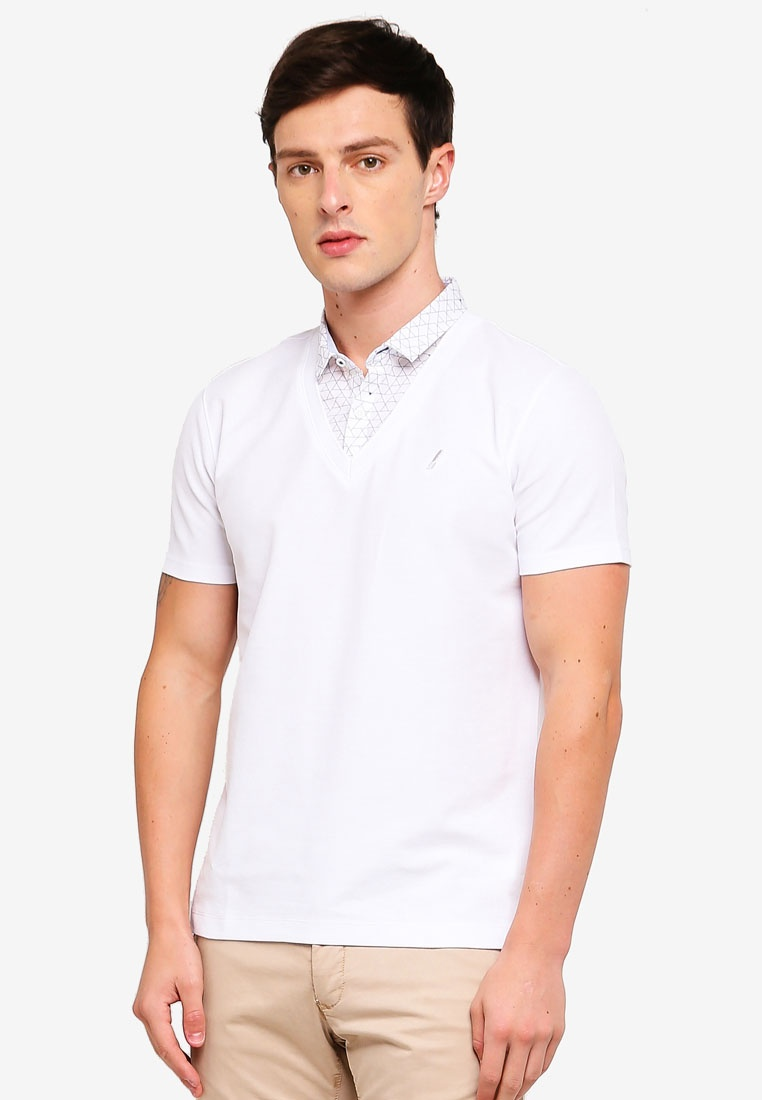 Shirt Collar In G2000 White 1 Polo 2 7UBWfIn7