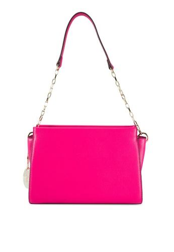 Perllini&Mel pink Faux Leather Single Handle Bag PE444AC01WHAMY_1