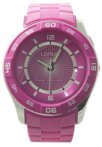 Lorus pink LORUS Jam Tangan Wanita - Pink - Silicon - R2351HX9  LO147AC75WUMID 1 6fdc253c8e