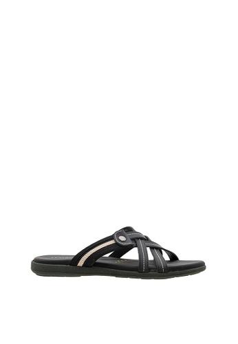 SEMBONIA black Men Synthetic Leather Sandal BE8EDSH0B7B42CGS_1