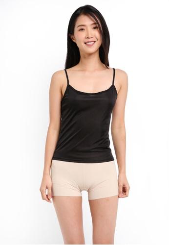 Impression black U-Neck Camisole Innerwear IM679US0SHULMY_1