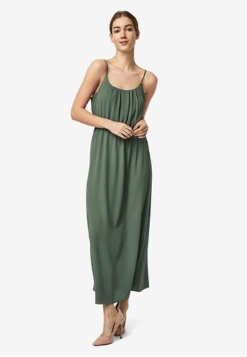 Vero Moda green Singlet Maxi Dress 2EF79AA7866600GS_1