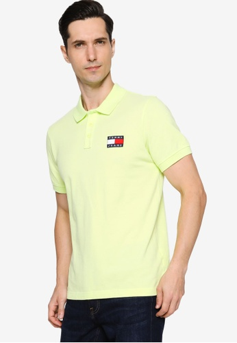 Tommy Hilfiger green Tjm Tommy Badge Lightweight Polo - Tommy Jeans 33BB4AA5FE85B4GS_1