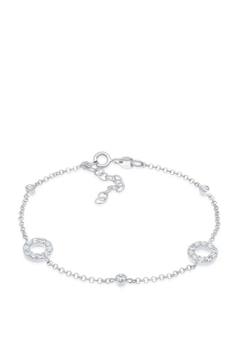 ELLI GERMANY white Vintage Swarovski Crystals Bracelet E9BC6AC69E3751GS_1