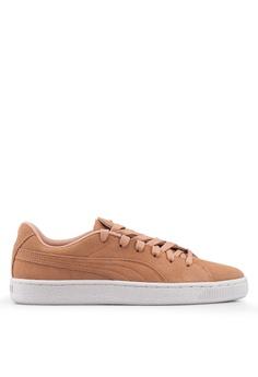 da88b27be0f Puma orange Suede Crush Studs Women's Sneakers E5386SH69C8366GS_1