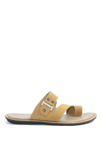 Dr. Kevin brown Dr. Kevin Men Casual Sandals 17215 - Camel DR982SH0V9CYID_1