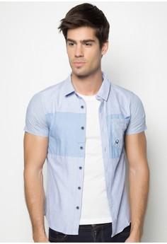 Boys Slim Fit Cut and Sew Shirt