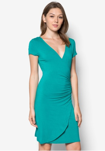 Avelina 裹飾修zalora 包包評價身連身裙, 服飾, 服飾