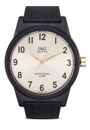 VR35J021Y 經尖沙咀 esprit典撞色圓錶, 錶類, 其它錶帶