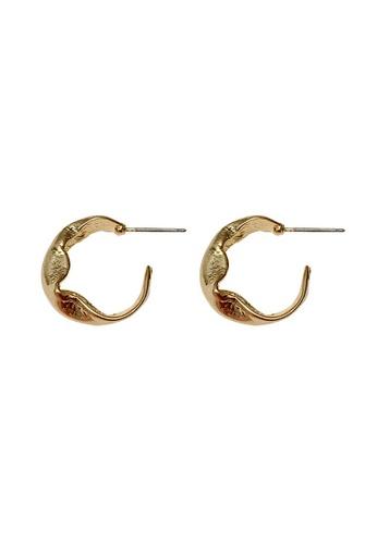 Glamorbit gold Gold Statement Earrings 3004FACBE14E9BGS_1
