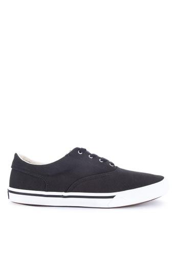 Sperry black Striper II CVO Saturated Sneakers FBA7ESH3C5DEE2GS_1