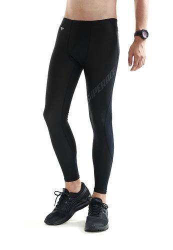 SUPERACE 黑色 壓縮緊身褲2.0 FA6C5AA71FBA74GS_1