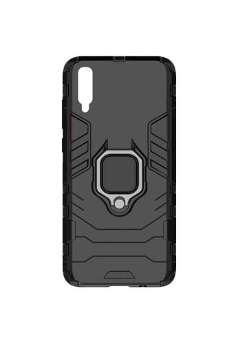 MobileHub black Samsung A50 Hybrid Defender Case with Kickstand B963DAC858B792GS_1
