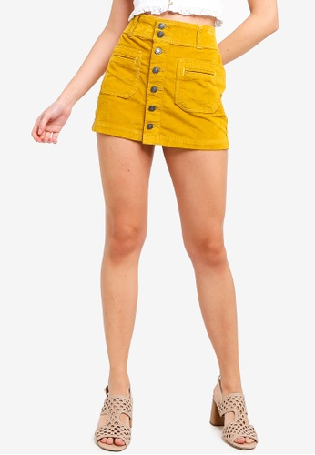 509e3e5e1c Buy Free People Joanie Corduroy Mini Skirt Online on ZALORA Singapore