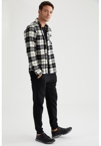 DeFacto black Slim Trousers B5624AAF089FA4GS_1