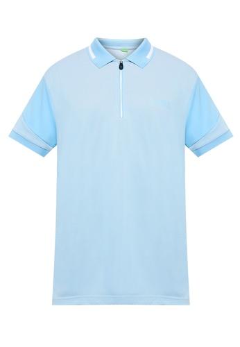 BOSS blue Prek Pro Polo Shirt E1CADAAD868632GS_1