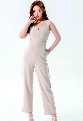 e28cde5c45bd Buy ICONIC Minimalist Jumpsuit Online on ZALORA Singapore