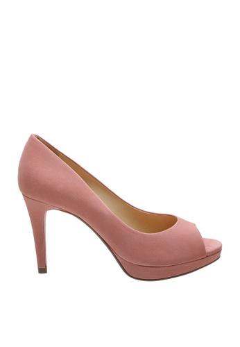 SCHUTZ 粉紅色 SCHUTZ 露趾高跟鞋 - LARA (粉紅色) B6578SH8B026E7GS_1