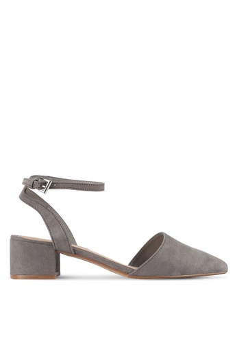 Dorothy Perkins grey Grey 'Emelia' Courts Shoes 376A4SH9E488F2GS_1