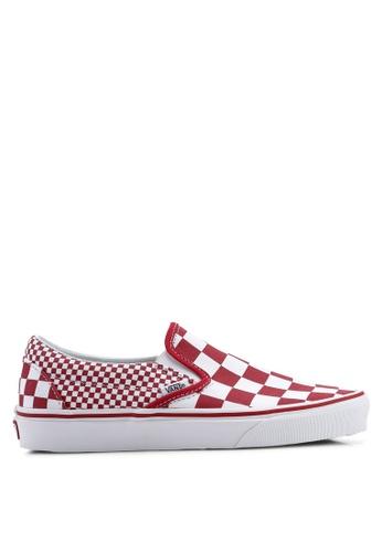 c2f1530bb4fd Buy VANS Mix Checker Slip-Ons