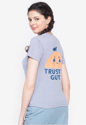 Artwork blue Trust your Gut T-Shirt 08E62AAB64ACE1GS_1