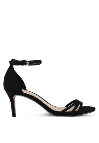 Mango black Ankle-Cuff Sandals 5E9F8SH3E8E9F6GS_1